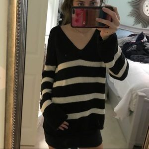 Long Sleeve H&M striped sweater